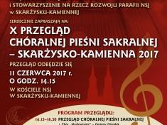 Przeglad Sakralnej Piesni Choralnej 2017 - plakat Internet (1)